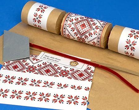 8 kraft scandinavian nordic christmas make your own crackers kit 8 kraft scandinavian nordic christmas make your own crackers kit solutioingenieria Gallery