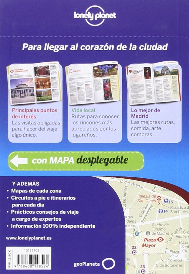 Lonely Planet Madrid De Cerca (Travel Guide) (Spanish Edition): Lonely Planet, Anthony Ham: 9788408148524: Amazon.com: Books