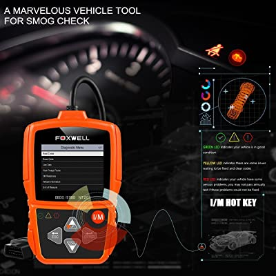NT201 is an automobile code reader that is built in speaker and 2.4' TFT colorful LCD display screen,