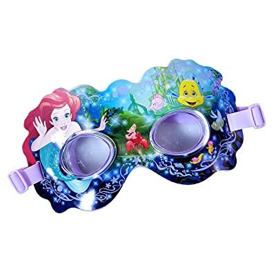 Disney Princess Girls Pool Toy Swim Mask The Little Mermaid Accessory for Kids: Toys & Games