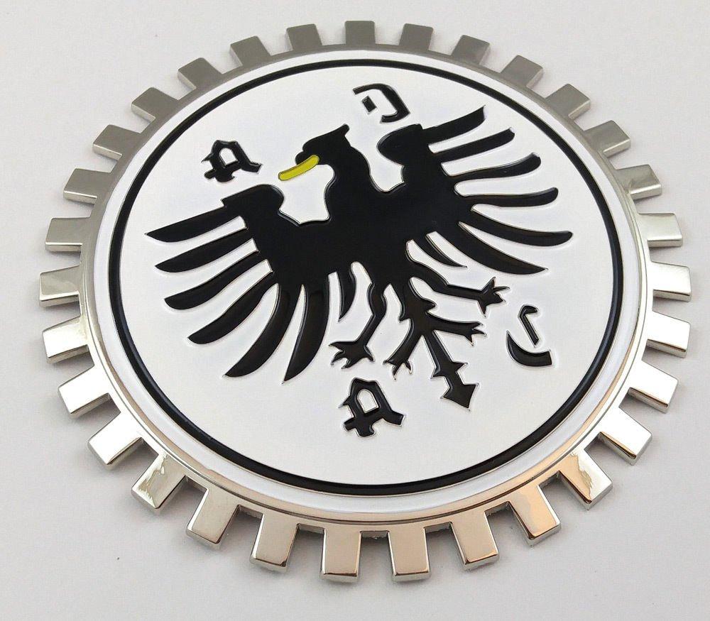 Aplique Parrilla Bandera de club alemana ADAC para montaje e