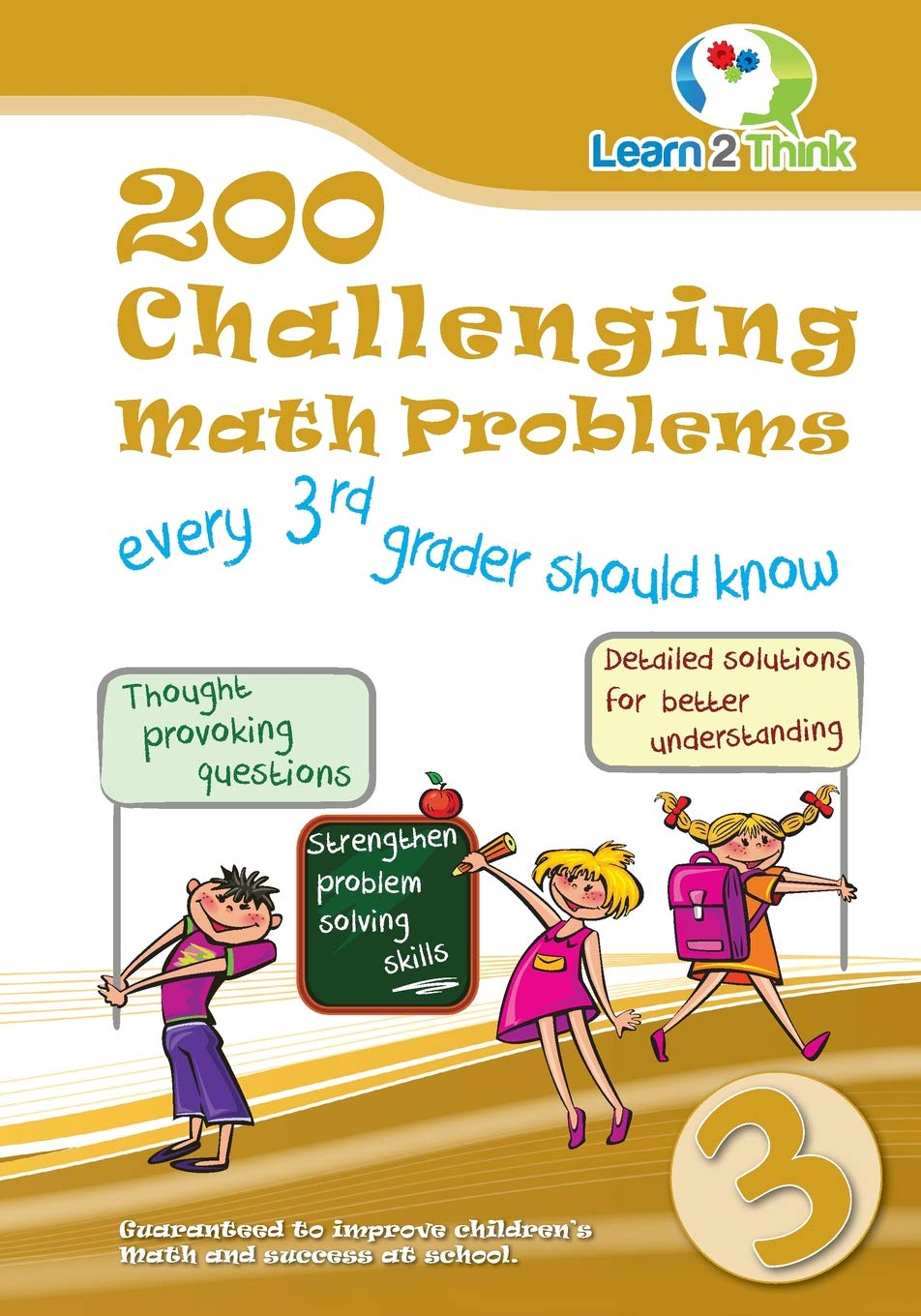 Download 200 Challenging Math Problems every 3rd grader should know (Volume 3) pdf