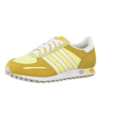 competitive price 07a3a 198cc adidas Sneaker La Trainer W gelbweiß EU 36