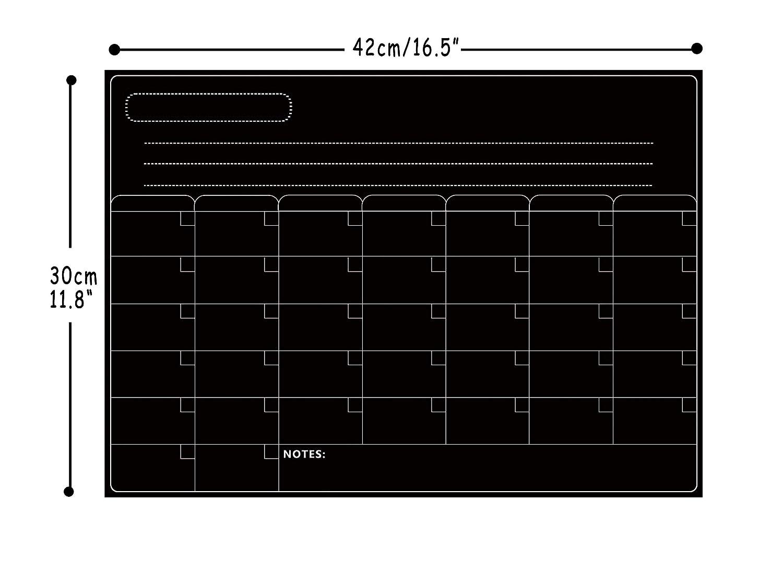 Kühlschrank Planer A3 : A white board kühlschrank trockenlöschbrett für