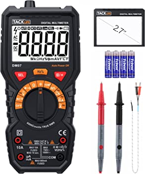 Tacklife DM07 Digital Multimeter