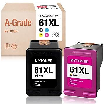 5 Black+3 Color Compatible with 61XL Ink For HP Deskjet 1512 2000 2050 2510 2512