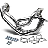 DNA Motoring HDS-FRS Stainless Steel Exhaust Header Manifold