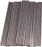 Yeeco 100Pcs Stainless Steel Shaft Round Rod