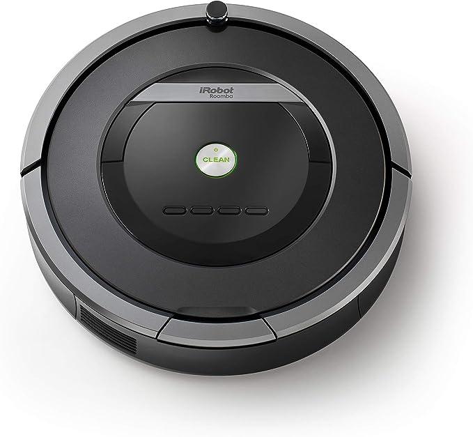 iRobot Roomba 871 Robot Aspirador Potente, Rendimiento de Limpieza, Sensores de Suciedad Dirt Detect, Todo Tipo de Suelos, Programable, Óptimo para el Pelo de Mascotas, 240 W, 61 Decibeles, Gris: Amazon.es: Hogar