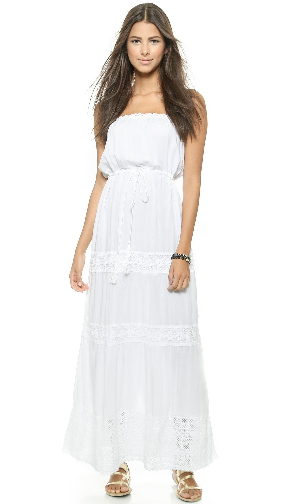 Melissa Odabash Women's Dru Cover Up Dress, White, Small