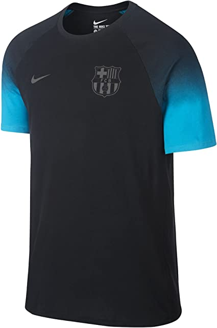 Patata acquazzone Grazie  Amazon.com: Nike FCB MATCH TEE mens workout-and-training-shirts  828139-010_XL - BLACK/ENERGY/BLACK: Clothing