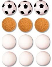 12 Kickerbälle (4x3), 4 verschiedene Sorten