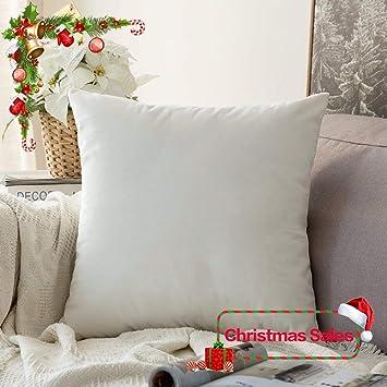 Amazon.com: Funda de cojín Miulee decorativa de ...