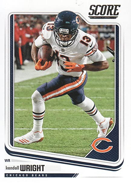 big sale 83483 23968 2018 Score Football #58 Kendall Wright Chicago Bears at ...
