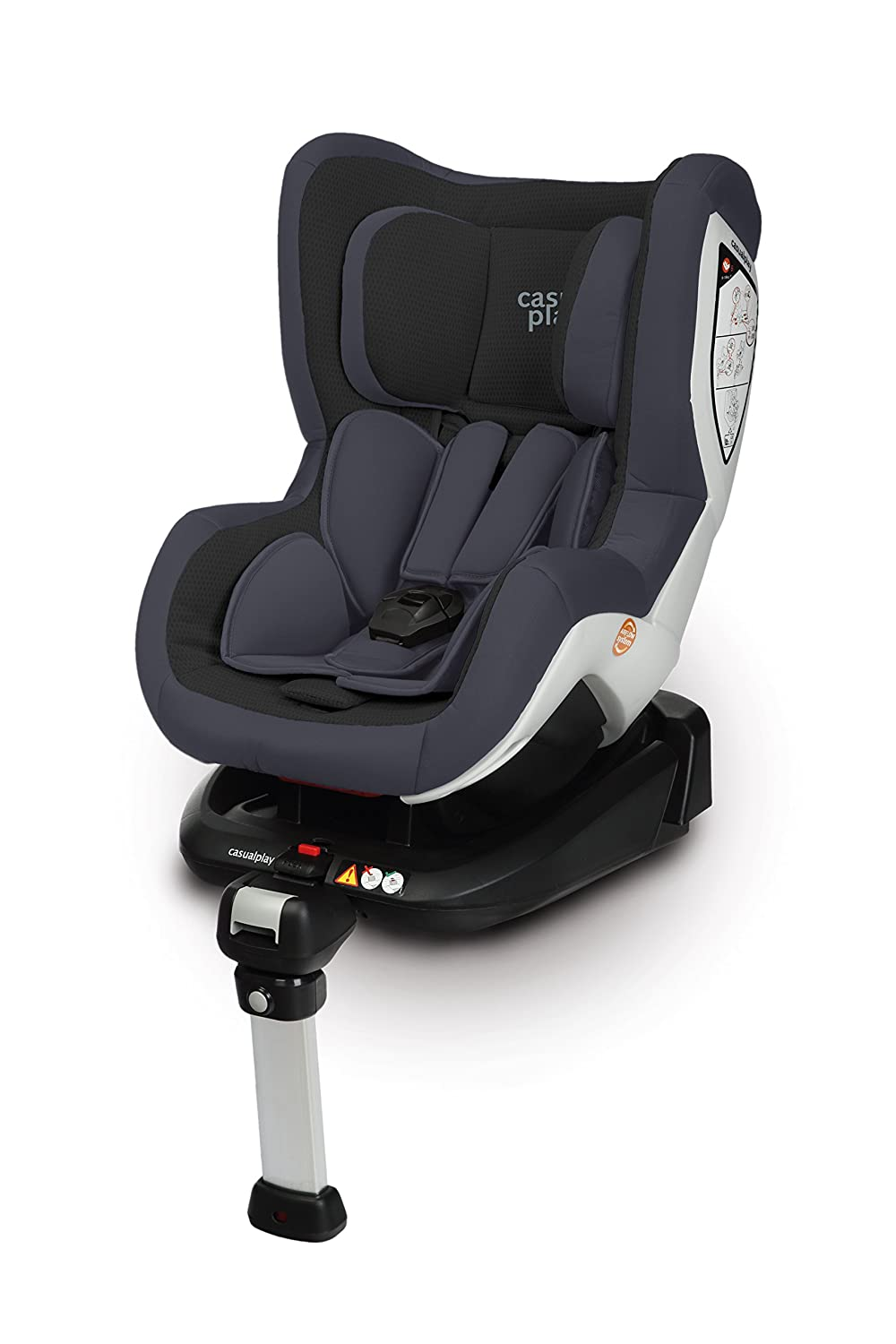Casualplay Bicare Fix Silla de coche grupo  color negro
