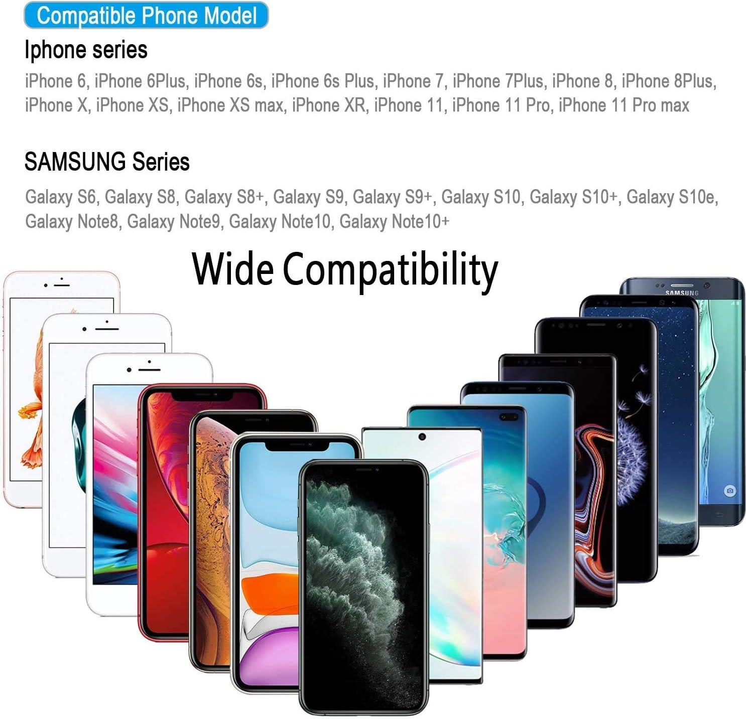 Universel Coque Étanche et Anti-Choc pour iPhone 11 Pro Max XS Max XR X 8 7 6S Plus Galaxy Note10 10 s9 S9 Jusqu'à 6.8 PoucesÉtanche jusqu'à 15 m