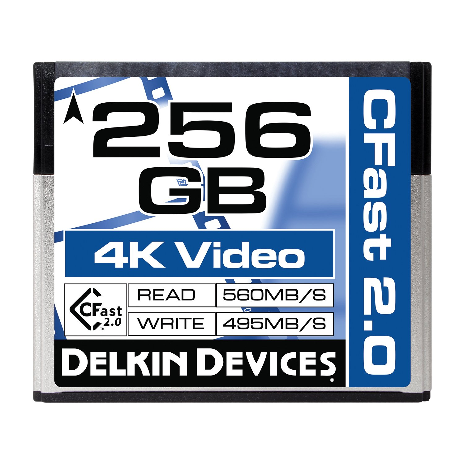 Delkin 256GB Cinema CFast 2.0 Memory Card (DDCFST560256) by Delkin