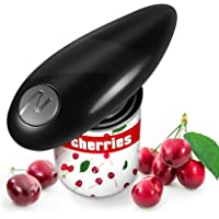 Electric Can Opener, Smooth Edge, Food-Safe and Battery Operated Handheld Automatic Electric Can Opener