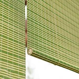 FF Estores enrollables Persianas enrollables para Exteriores, persianas venecianas de Madera para Patio con Patio Pergola, Verde, 60/80/100/120/130/140 cm de Ancho (Size : 80×160cm): Amazon.es: Hogar