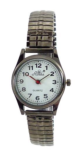 Relojes Reloj De Mujer Pequeño Negro Números Grandes Reloj de pulsera para él y ella con