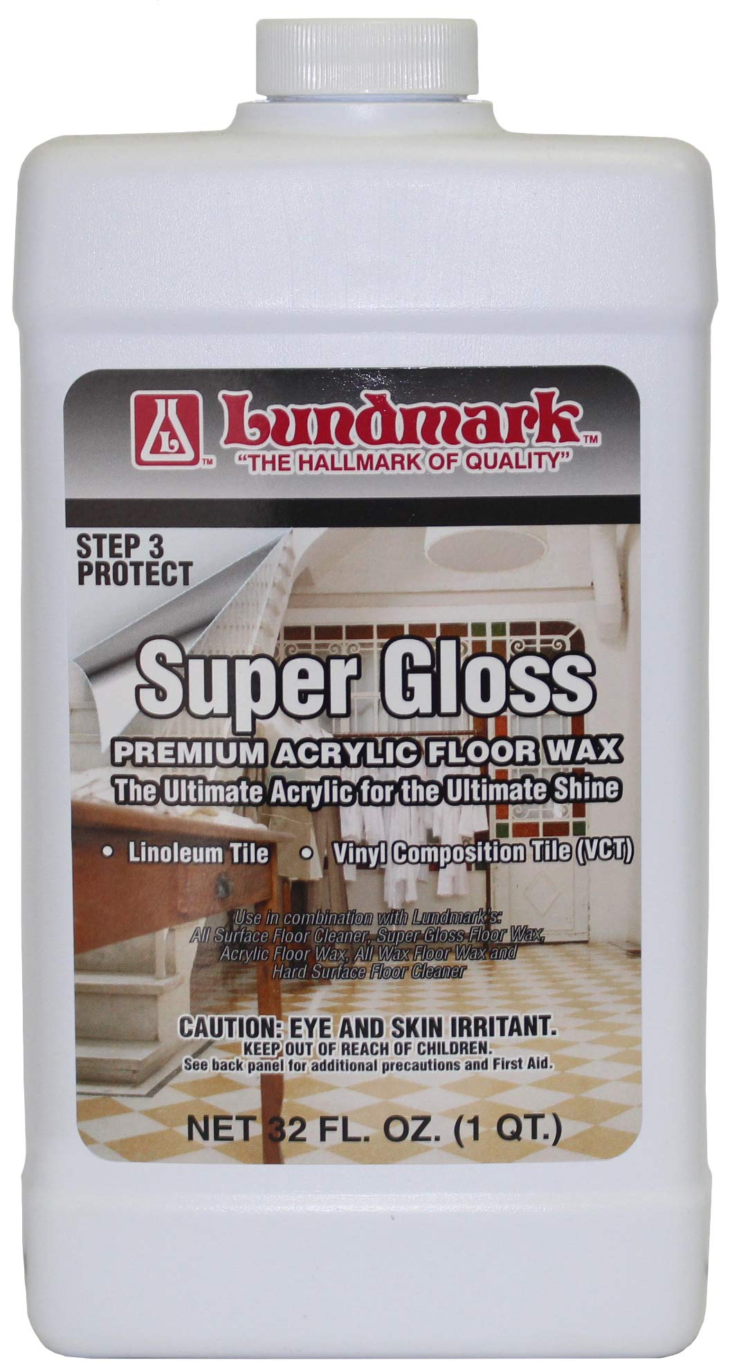 Lundmark Super Gloss Acrylic Extra Heavy Duty Hard Finish