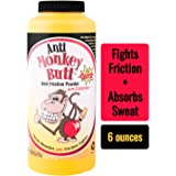 Anti-Monkey Butt | Men's Anti Friction and Sweat Powder with Calamine | 6 oz.