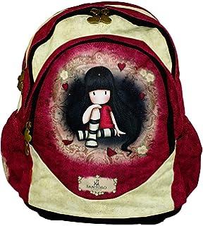 SANTORO GORJUSS Mochila Escolar, Rojo (Rojo) - G4183559