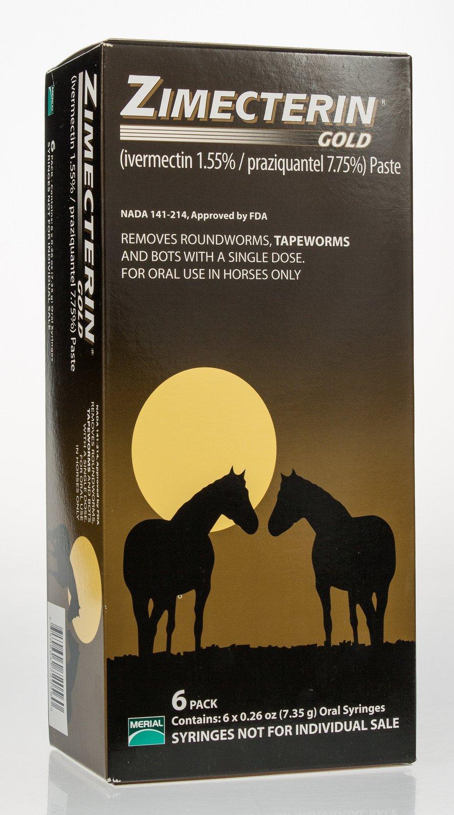 Zimecterin Gold Barn Pack (6 tubes)
