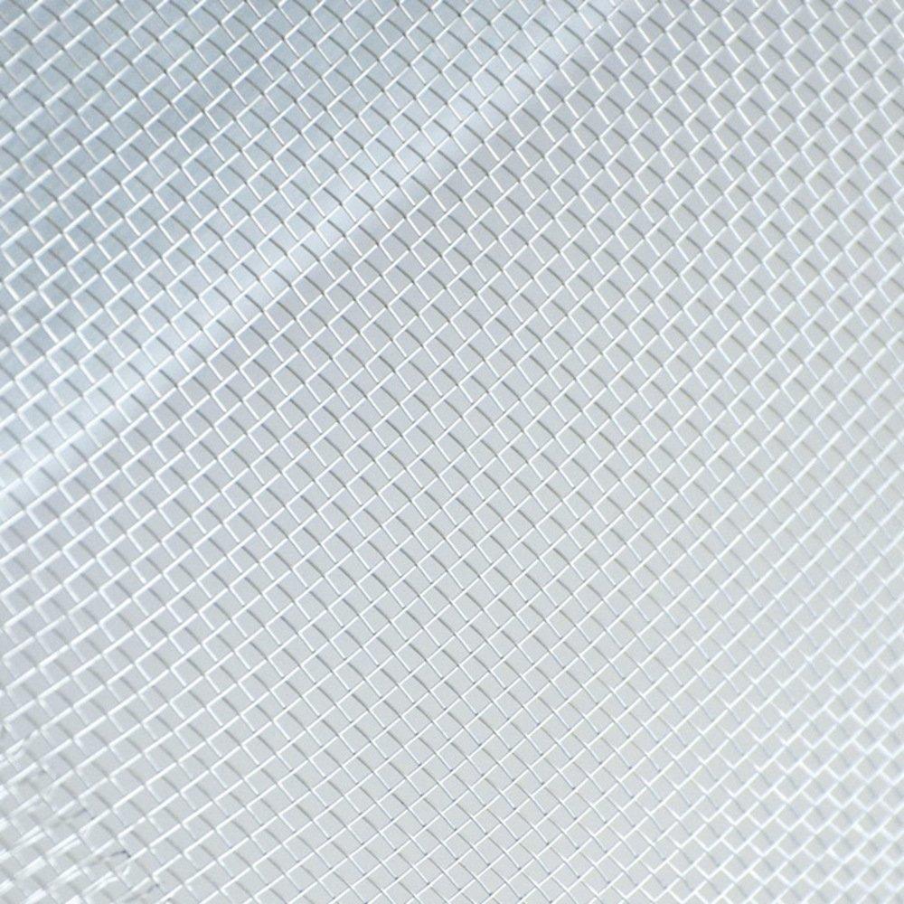 VERDELOOK Rete per zanzariera in Alluminio a Maglia Rettangolare Zanzall Dim 0.8x30