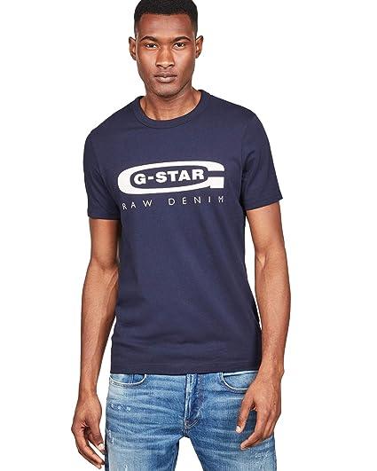 G-STAR RAW Graphic Logo 4 Camiseta para Hombre: Amazon.es: Ropa y ...