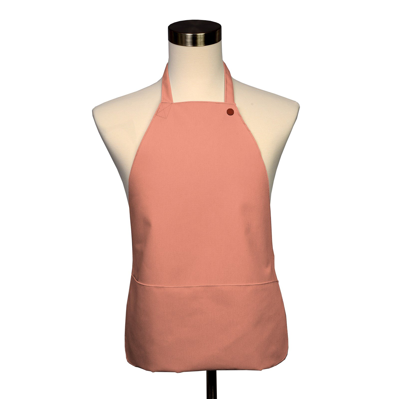 Adult Bib 25 Pack - Covered with Care Assorted Colors Available! (Peach)