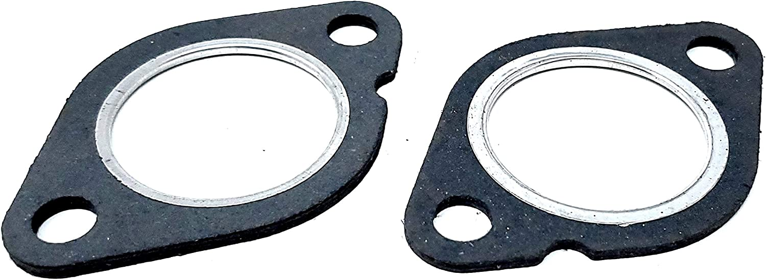 2 pieces 1.75 1.75in 1 3//4 High Temperature Exhaust Gasket Flange Industrial Stainless Steel INCH/… AMDCO