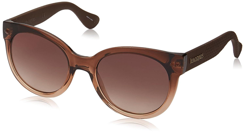 Havaianas Noronha/M Gafas de sol, Marrón (SHDHVNBRW), 52 para Mujer
