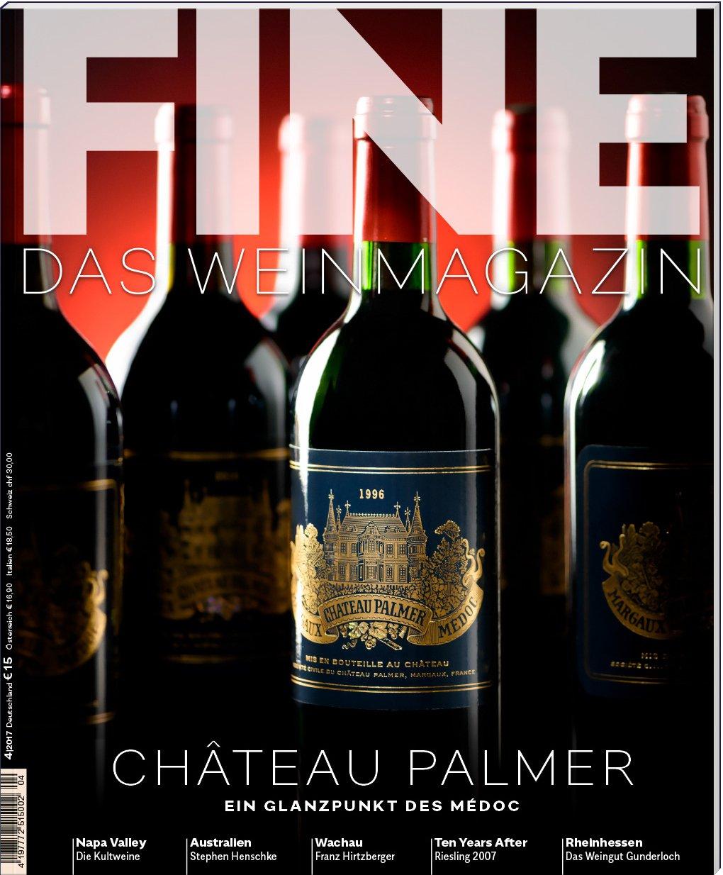 FINE Das Weinmagazin 04/2017: 39. Ausgabe