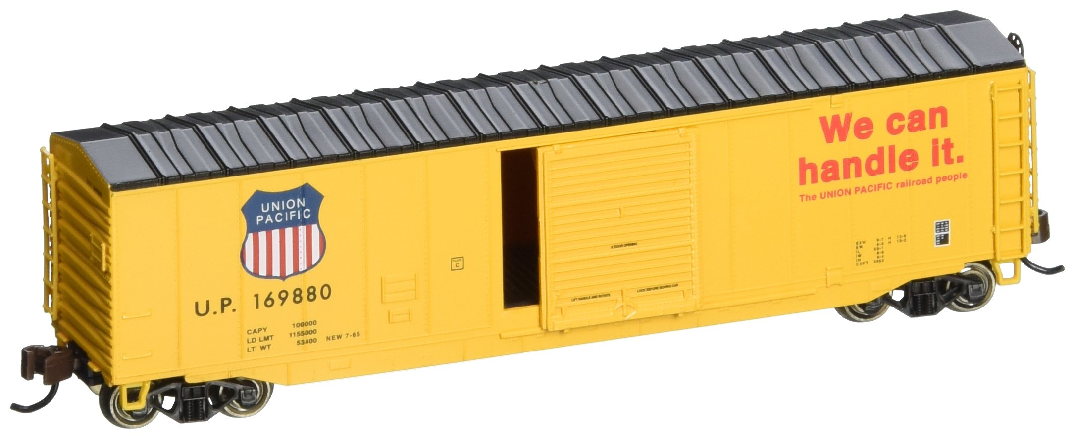 Bachmann Industries 50' Sliding Door Box Union Pacific Car, N Scale