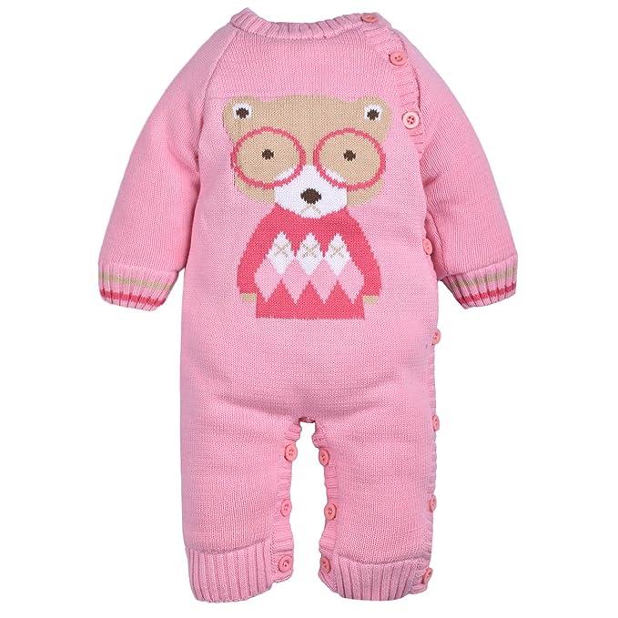 ZOEREA peleles bebe invierno Suéter sweater abrigos bebe niño sudaderas niño suéter navidad knitwear ropa linda de la historieta: Amazon.es: Ropa y ...