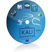 Kali Linux 2018.3a GNOME 64 Bit Live Bootable Installation DVD Ethical Hacking