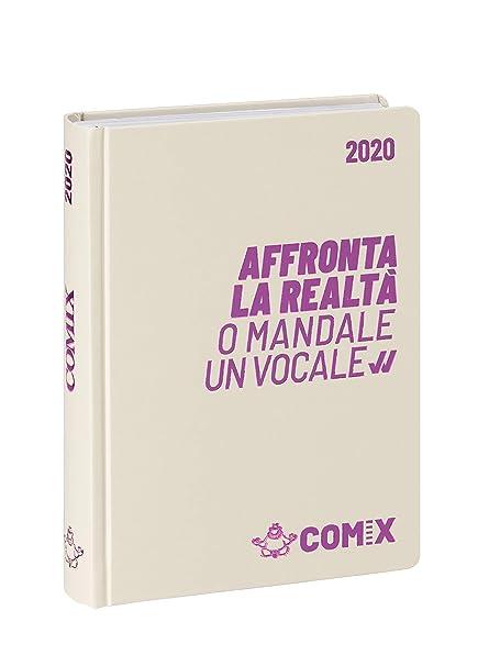 Agenda Comix 16 m mini blanco rosa 60898G: Amazon.es ...