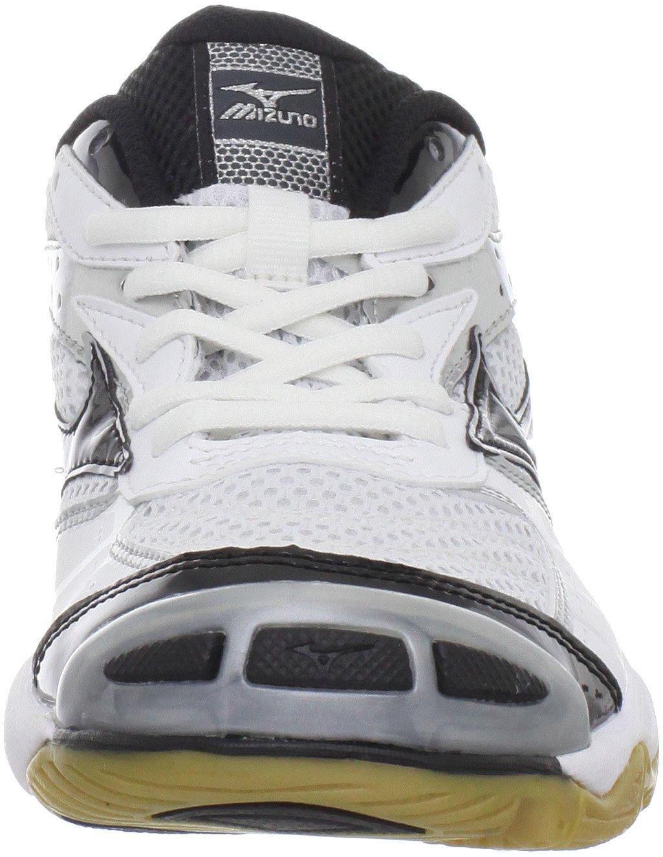 Mizuno Women's Wave Bolt Volleyball Shoe,White/Black,9 M US by Mizuno (Image #4)