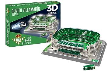 Eleven Force- Puzzle EST 3D Benito Villamarín (R. Betis) con Luz ...