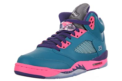 9f1f97783257 Image Unavailable. Image not available for. Color  Girls Air Jordan 5 Retro  ...