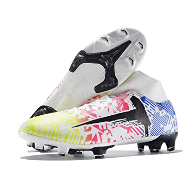 Kid/'s Athletic Outdoor//Indoor TF Soccer Shoes Boys Football Student Comfortable