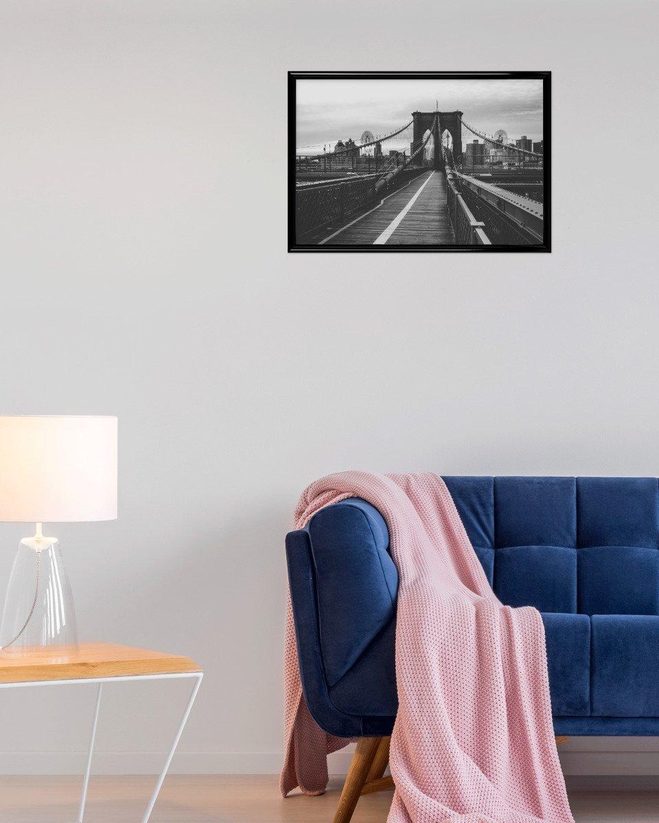Amazon.de: artboxONE Poster 150x100 cm Reise Brooklyn Bridge, NYC ...