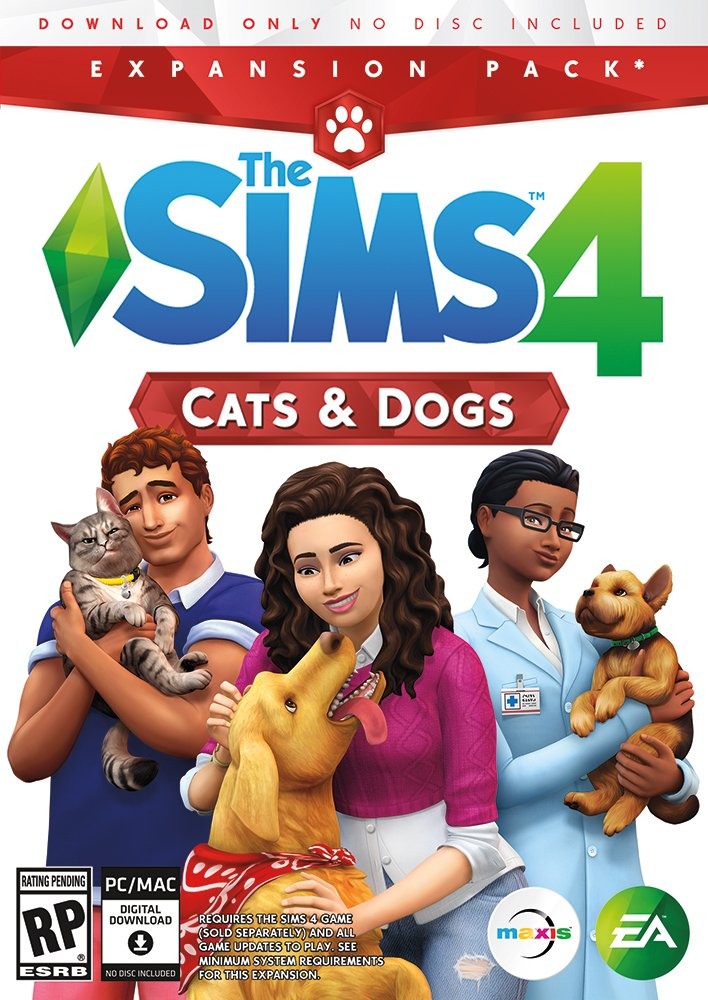 The Sims 4 Cats & Dogs [Online Game Code] by Electronic Arts