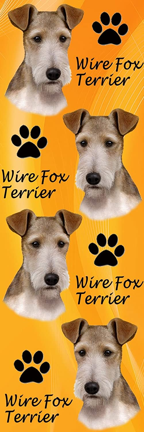 ES Imports BM-56 Wire Fox Terrier Bookmark Pack of 3