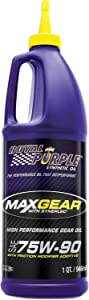 Royal Purple ROY01300 Max GEar 75W90 Synthetic Lube, 1 Quart
