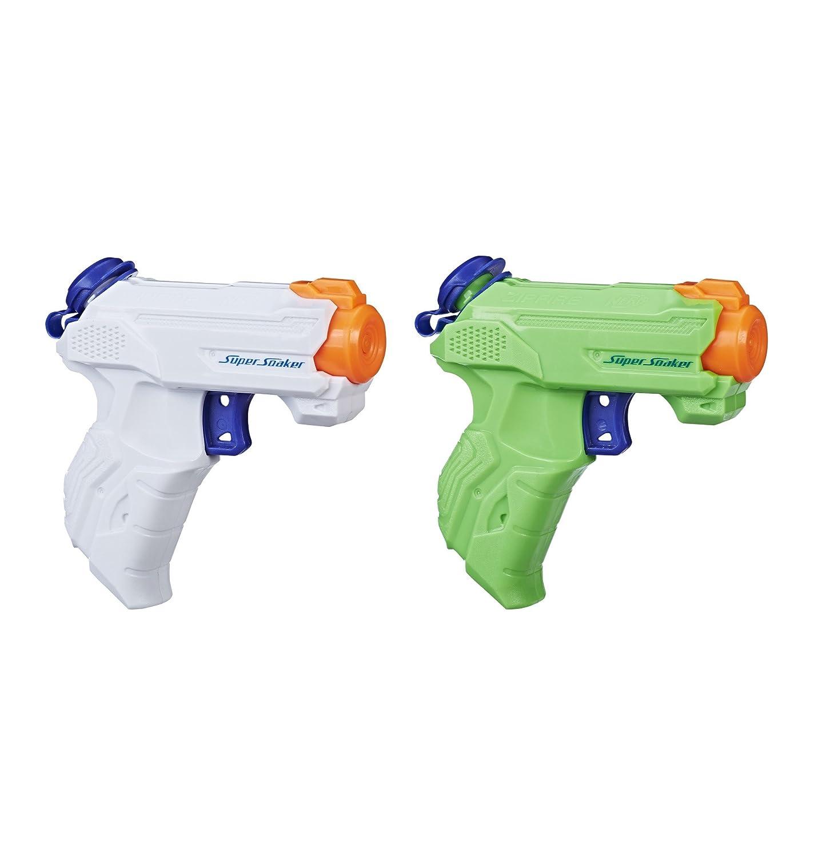 Hasbro, pistola ad acqua a spruzzo Super Soaker ZipFire, confezione da 2 pezzi E2155EU5