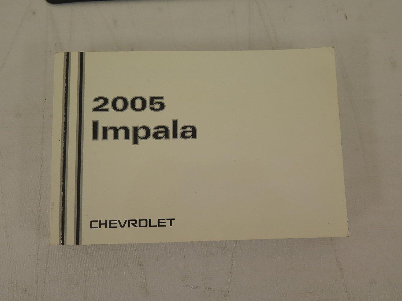 amazon com 2005 chevrolet impala owners manual chevrolet automotive rh amazon com User Manual PDF 2004 impala owners manual pdf