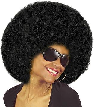 70 S Groovy Danseuse Costume Plus Noir Perruque Afro