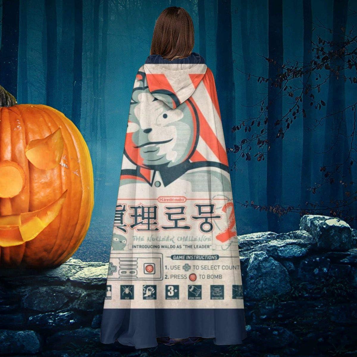 AISFGBJ The Waldo Moment Kim Jong Un - Disfraz de Bruja con ...